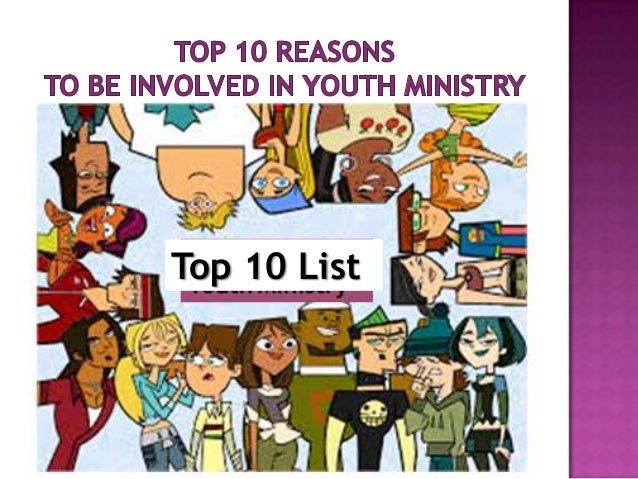 Top 10 reasons to be involved in ym