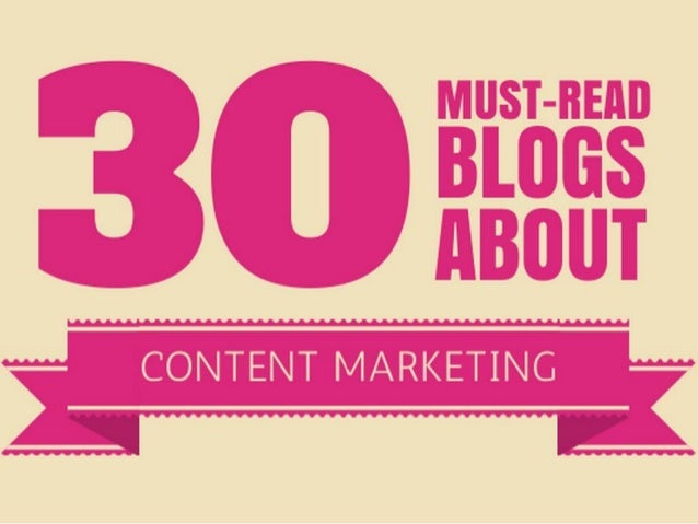 Top 30 Must Read Blogs about Content Marketi