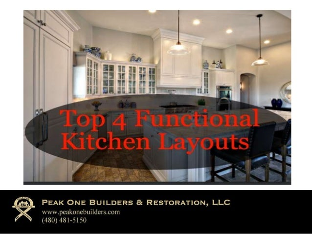 Top 4 Functional Kitchen Layouts