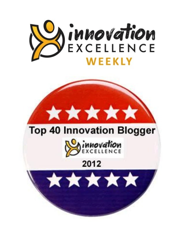 Top 40 Innovation Bloggers of 2012