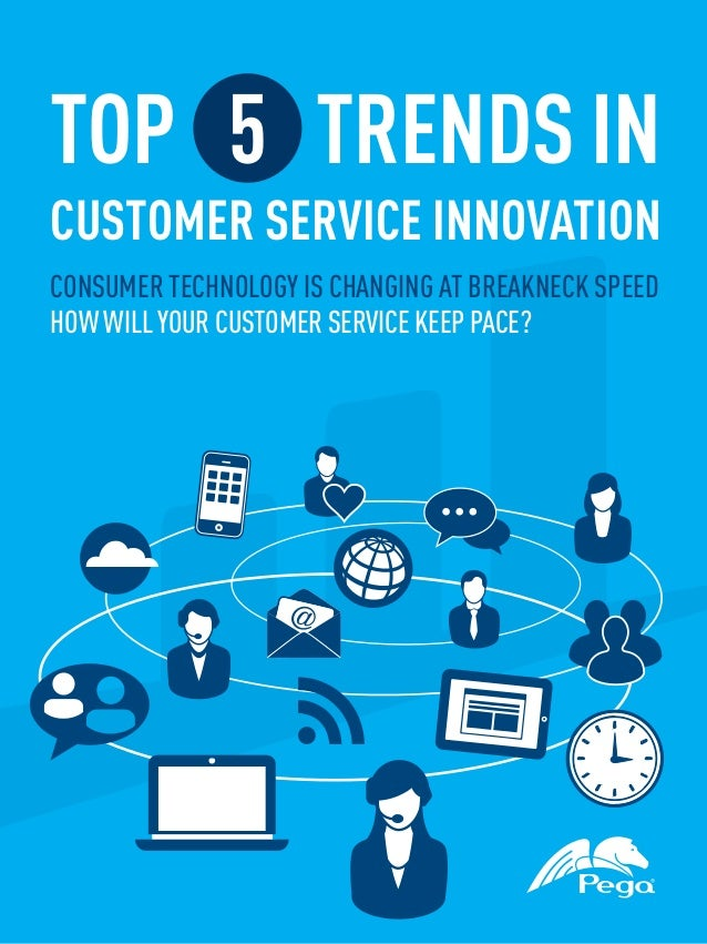 TOP 5 TRENDS INCUSTOMER SERVICE INNOVATIONCONSUMER TECHNOLOGY IS CHANGING AT BREAKNECK SPEEDHOW WILL YOUR CUSTOMER SERVICE...