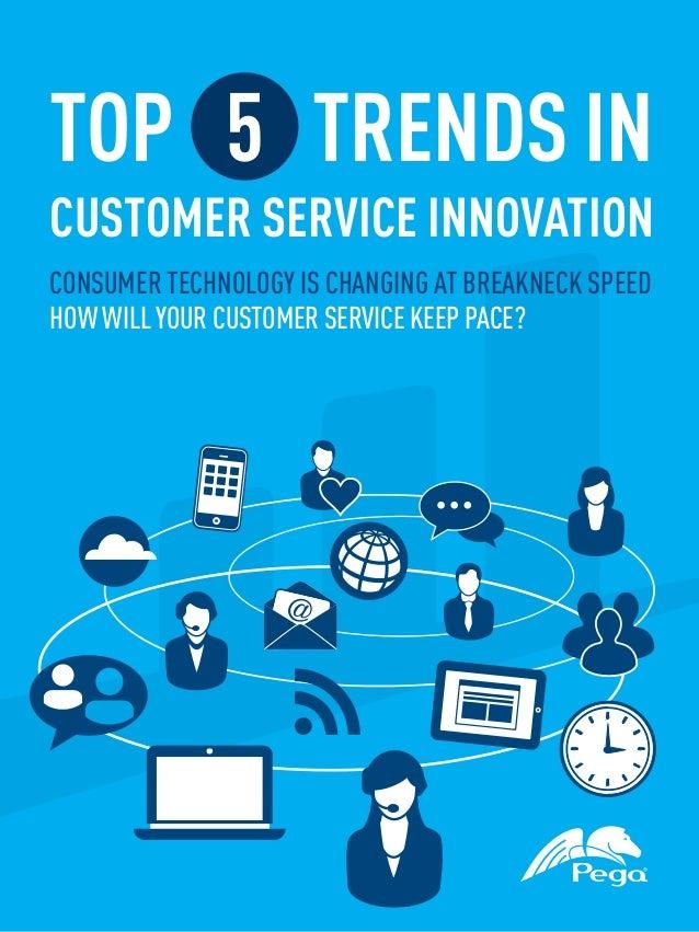 Top 5 Trends in Customer Service Innovation eBook