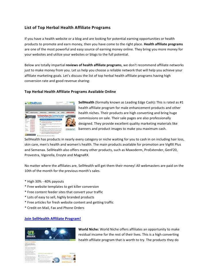 Online clothing affiliate programs