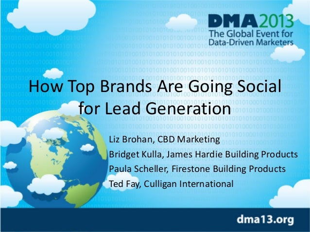 How Top Brands Are Going Social for Lead Generation