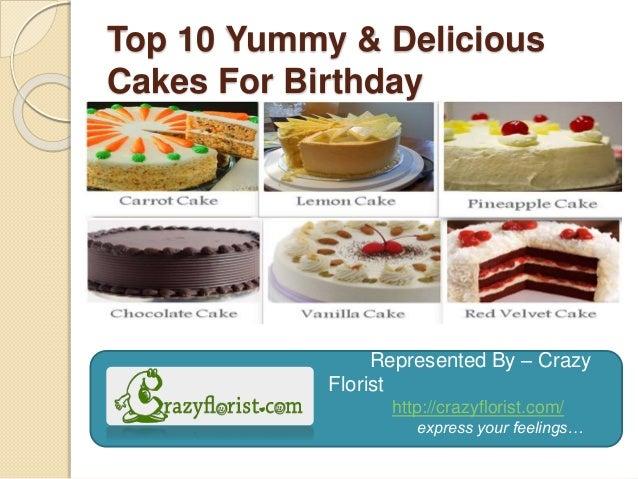 Birthday Cake Flavors Names