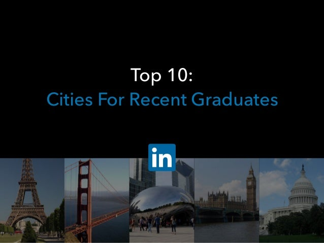 Top 10: Cities For Recent Graduates