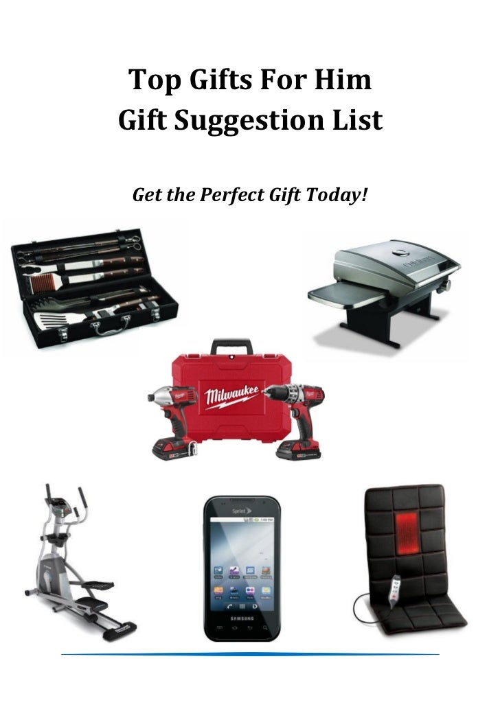 Top Gifts For HimGift Suggestion List Get the Perfect Gift Today!