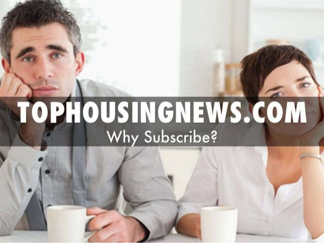 Top Housing News - What every good Real Estate Market Update Needs