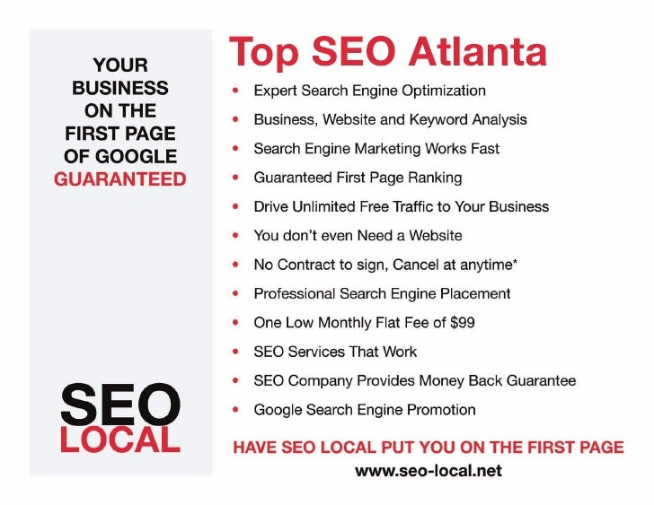 Top SEO Atlanta Georgia