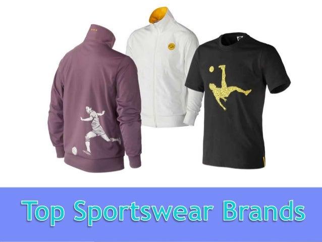 Top Sportswear Brands