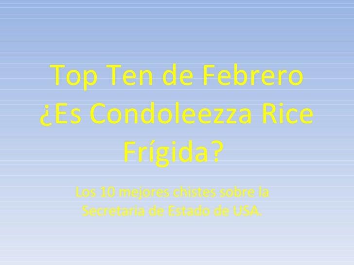 Top Ten De Febrero
