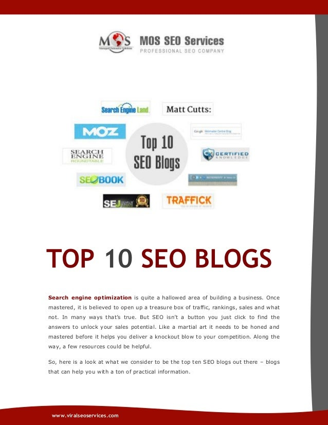 Top 10 SEO Blogs