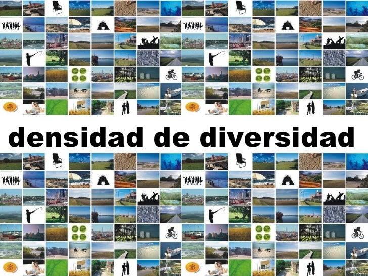 densidad de diversidad