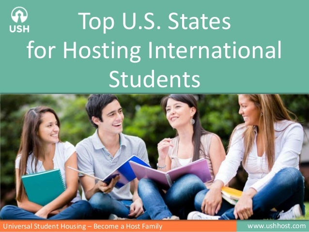 Top 10 Host States in the U.S. Hosting International Students