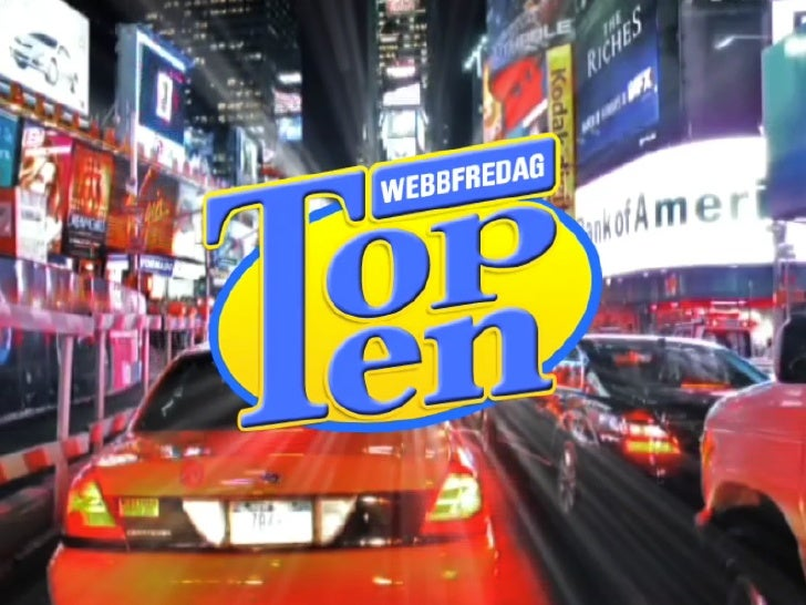 TOP 10 WEBBTRENDER 2010  10. AUGMENTED REALITY  quot;In the future, we will be living, in part, in a virtual realityquot; ...