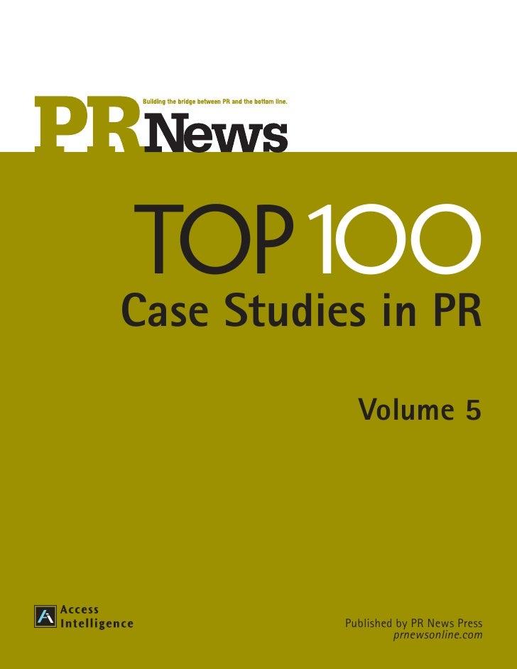 PR Guidebook Top100 case study