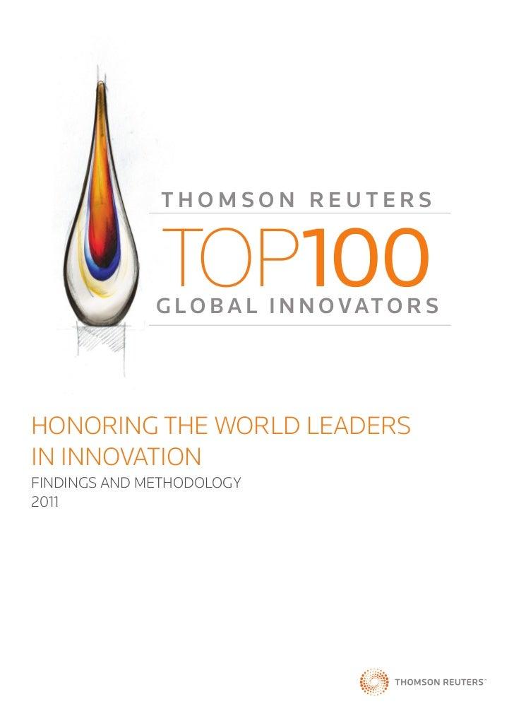 Top100 global innovators