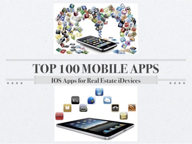 Top 100 IOS Mobile Apps for Real Estate