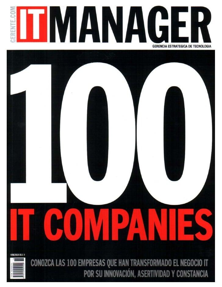 DBAccess Top 100 IT Companies 2008
