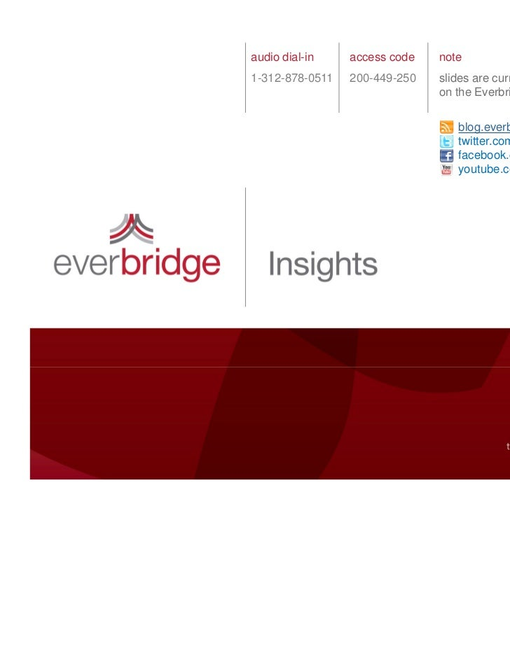 Everbridge Webinar: Top 10 Emergency Notification Predictions for 2011