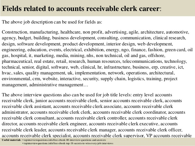 accounts payable description resumes