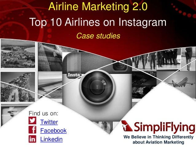 Top 10 Airlines on Instagram