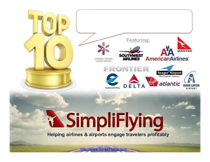 Top 10 Aviation Crises Handled Through Social Media