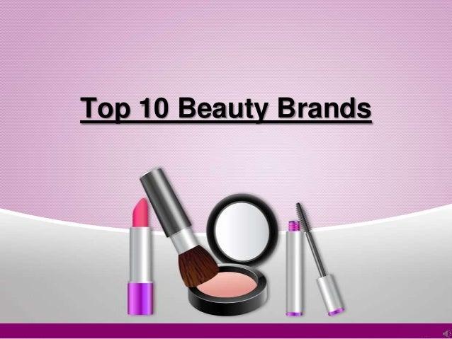 Top 10 Beauty Brands