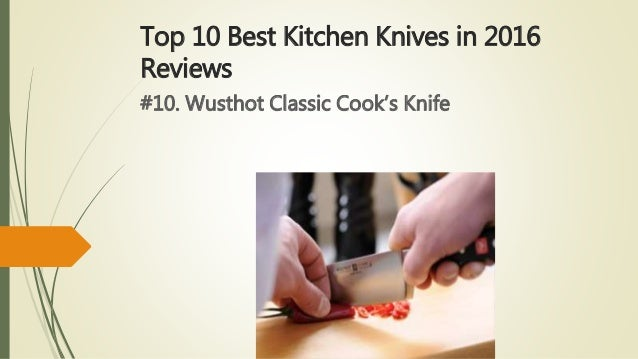 top 10 best kitchen knives in 2016 reviews