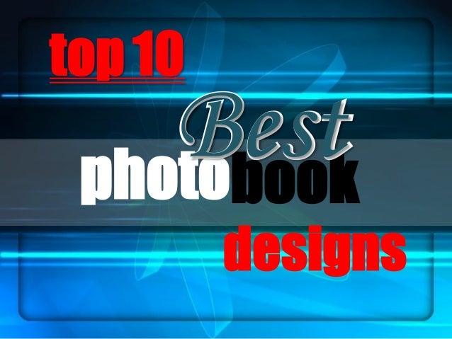 top 10 photobook BestBest designs