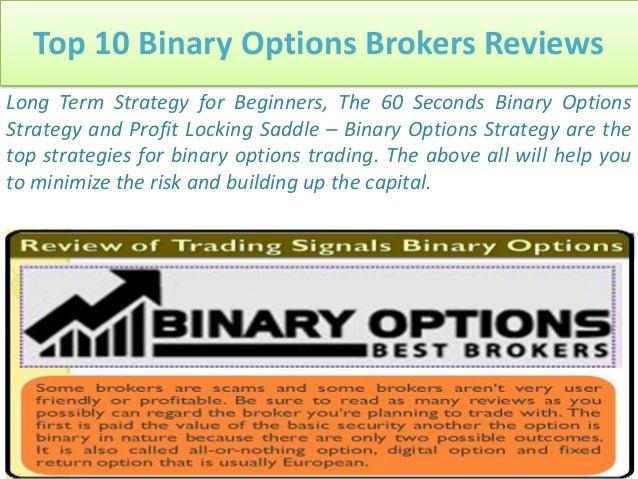Top binary options brokers uk