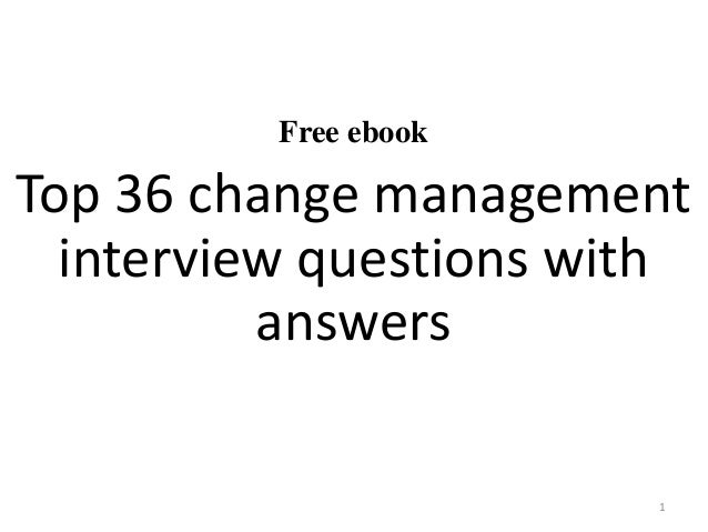 Leadership Interview Questions and Answers: Examples of ...