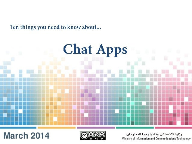 10 thing you need to know about Chat Apps