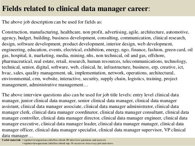 how to become a clinical data manager