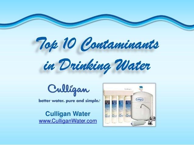 Culligan Waterwww.CulliganWater.com