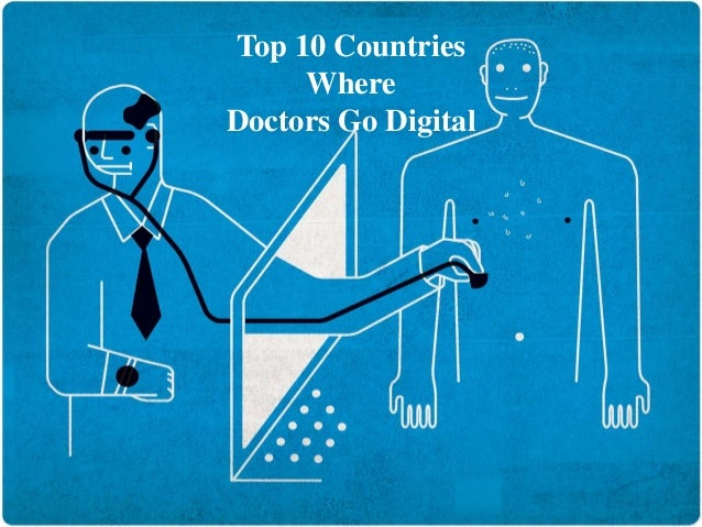 Top 10 countries where doctors go digital by Surgerica