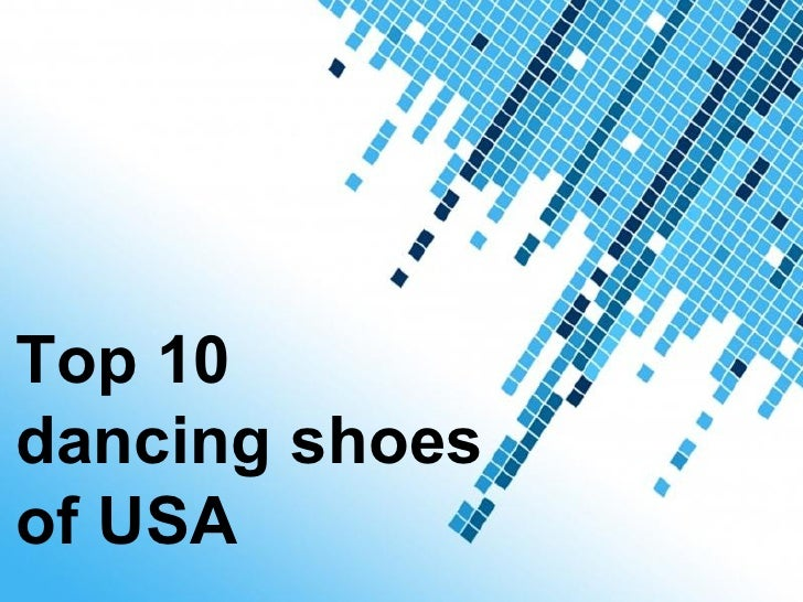 Top dancing shoes of USA – 2012
