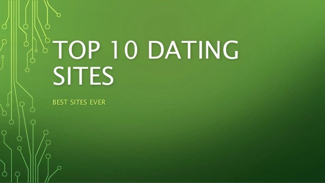 list best dating sites world
