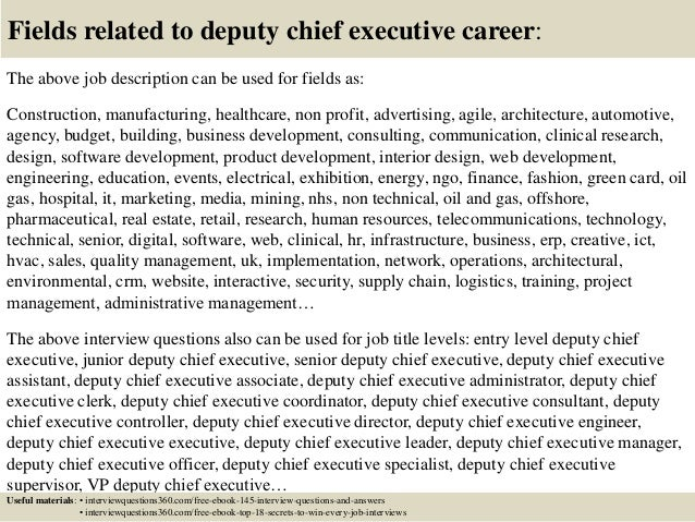 chief executive job description the difference between an – Web Editor Job Description