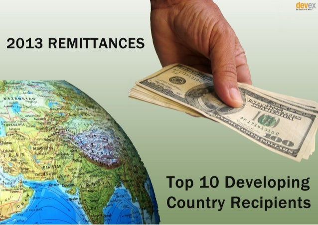 Top 10 Developing Country Recipients of Remittances