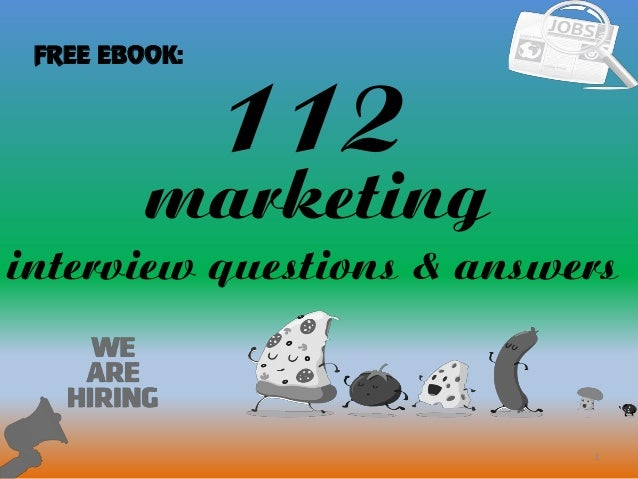 interview tips marketing