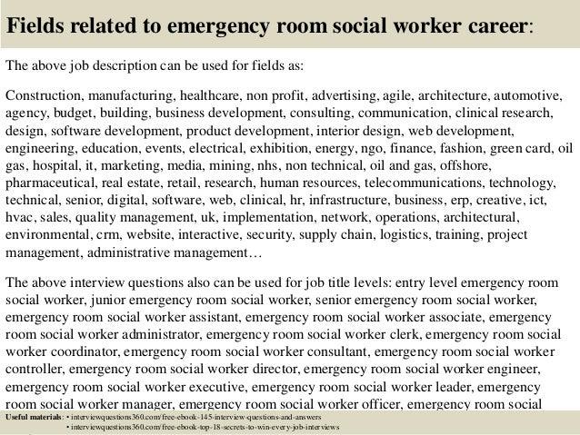 top 10 emergency room social worker interview questions top 10 emergency room social worker interview questions - Social Work Interview Questions For Social Workers