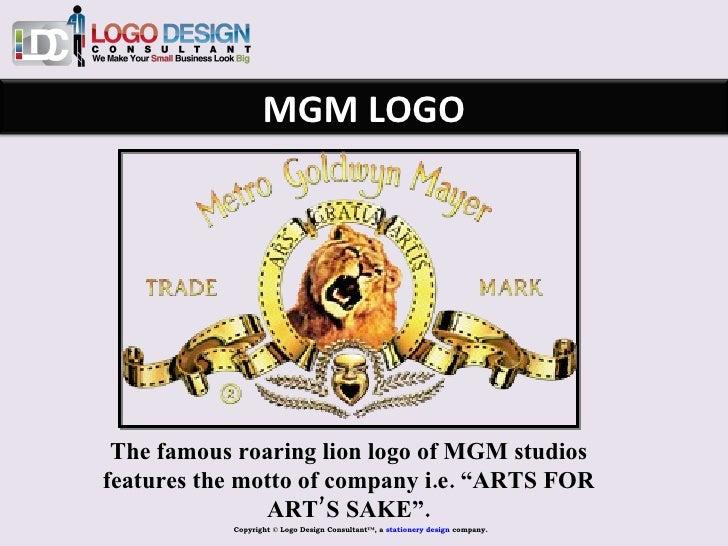 Famous Entertainment Logos The Famous Roaring Lion Logo