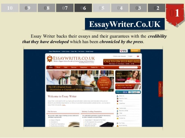 Top Presentation Writers Website Uk