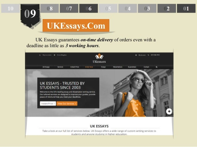 Uk essay writing service