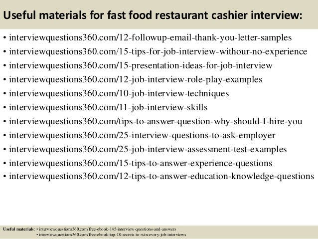 How can I get a decent job with only fast food experience?