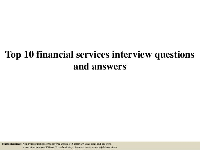 Sophisticated Content For Financial Advisors Around Investment Strategies,  Industry Trends, And Advisor Education.Top 10 Investment Interview Questions  With ...