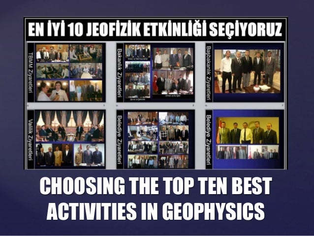 Top 10 Geophysics Activity Conducted by JFMO İstanbul