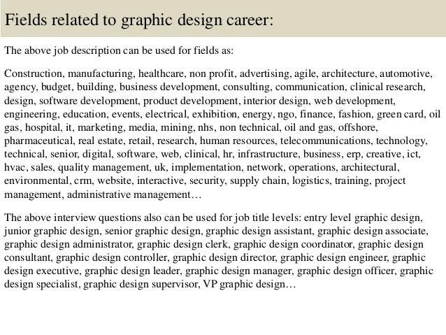 graphic design job description sample graphic design resume sample ...