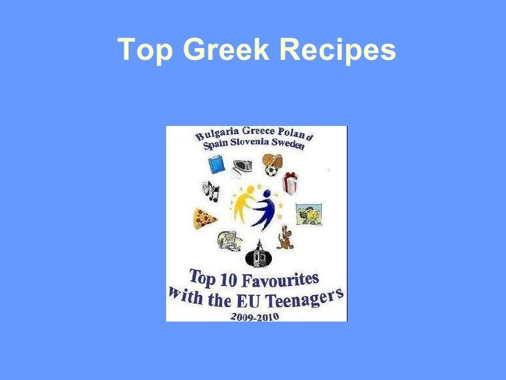Top Greek recipes